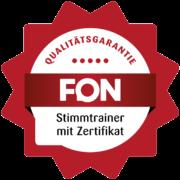 FON Zertifikat Anne Sammler